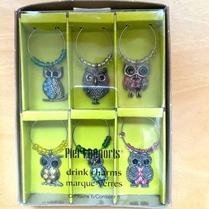 Wine Charms 6 Piece New in Box